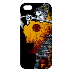 Samurai Rise Apple Iphone 5 Premium Hardshell Case