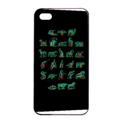 Abc s Apple Iphone 4/4s Seamless Case (black) by Contest1891613