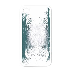 the Woods Beckon  Apple Iphone 4 Case (white)