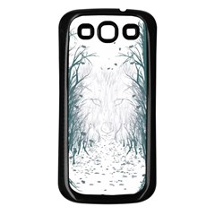 the Woods Beckon  Samsung Galaxy S3 Back Case (black)