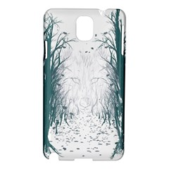 the Woods Beckon  Samsung Galaxy Note 3 N9005 Hardshell Case by Contest1891613