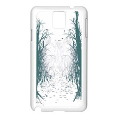 the Woods Beckon  Samsung Galaxy Note 3 N9005 Case (white)
