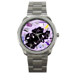 Life With Fibromyalgia Sport Metal Watch by FunWithFibro