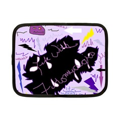 Life With Fibromyalgia Netbook Sleeve (small) by FunWithFibro