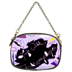 Life With Fibromyalgia Chain Purse (two Sided)