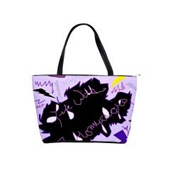 Life With Fibromyalgia Large Shoulder Bag by FunWithFibro