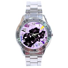Life With Fibromyalgia Stainless Steel Watch by FunWithFibro