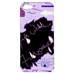 Life With Fibromyalgia Apple Iphone 5 Hardshell Case by FunWithFibro