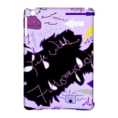 Life With Fibromyalgia Apple Ipad Mini Hardshell Case (compatible With Smart Cover) by FunWithFibro