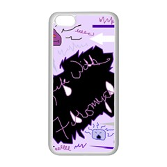 Life With Fibromyalgia Apple Iphone 5c Seamless Case (white) by FunWithFibro
