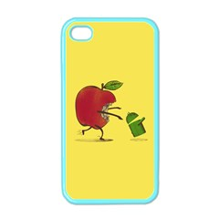 Paranoid Android Apple Iphone 4 Case (color)
