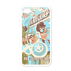 Nerdcorps Apple Iphone 4 Case (white) by Contest1889920