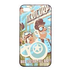 Nerdcorps Apple Iphone 4/4s Seamless Case (black) by Contest1889920