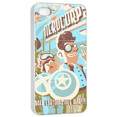 Nerdcorps Apple Iphone 4/4s Seamless Case (white) by Contest1889920