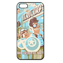 Nerdcorps Apple Iphone 5 Seamless Case (black) by Contest1889920