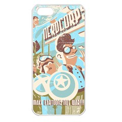 Nerdcorps Apple Iphone 5 Seamless Case (white) by Contest1889920