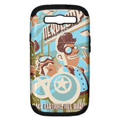 Nerdcorps Samsung Galaxy S Iii Hardshell Case (pc+silicone) by Contest1889920