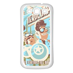 Nerdcorps Samsung Galaxy S3 Back Case (white) by Contest1889920