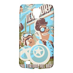Nerdcorps Samsung Galaxy S4 Active (i9295) Hardshell Case