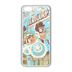 Nerdcorps Apple Iphone 5c Seamless Case (white) by Contest1889920