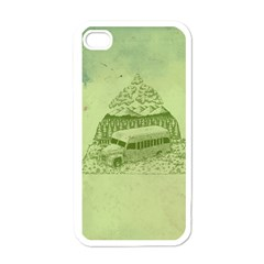 Into The Wild Apple Iphone 4 Case (white) by Contest1893317