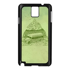 Into The Wild Samsung Galaxy Note 3 N9005 Case (black) by Contest1893317