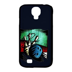 Bowling Samsung Galaxy S4 Classic Hardshell Case (pc+silicone) by Contest1852090