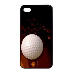 Golfball Apple Iphone 4/4s Seamless Case (black)