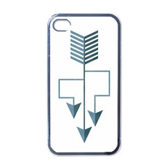 Arrow Paths Apple Iphone 4 Case (black)