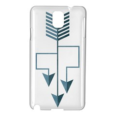 Arrow Paths Samsung Galaxy Note 3 N9005 Hardshell Case