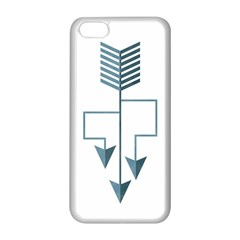 Arrow Paths Apple Iphone 5c Seamless Case (white) by Contest1888309