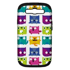 Cats Samsung Galaxy S Iii Hardshell Case (pc+silicone) by Contest1771913