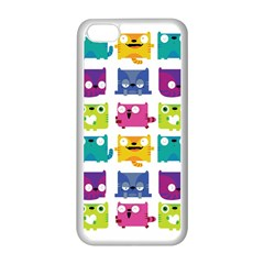 Cats Apple Iphone 5c Seamless Case (white) by Contest1771913