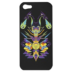Mistress Of All Evil Apple Iphone 5 Hardshell Case by Contest1886839