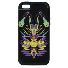 Mistress Of All Evil Apple Iphone 5 Hardshell Case (pc+silicone) by Contest1886839