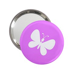 Butterfly Handbag Mirror (2 25 )