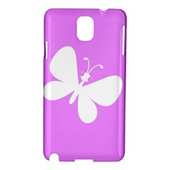 Butterfly Samsung Galaxy Note 3 N9005 Hardshell Case by Colorfulart23