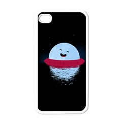 Midnight Swim Apple Iphone 4 Case (white) by Contest1893972