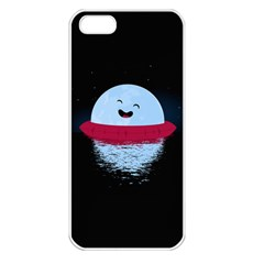 Midnight Swim Apple Iphone 5 Seamless Case (white) by Contest1893972
