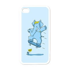 The Ollie-phant Apple Iphone 4 Case (white) by Contest1893972