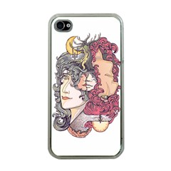 Kiss ! Apple Iphone 4 Case (clear) by Contest1731890