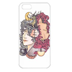 Kiss ! Apple Iphone 5 Seamless Case (white)