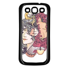 Kiss ! Samsung Galaxy S3 Back Case (black) by Contest1731890