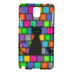 Cat Samsung Galaxy Note 3 N9005 Hardshell Case by Contest1719785