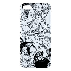 Faces In Places Apple Iphone 5 Premium Hardshell Case by Contest1894109