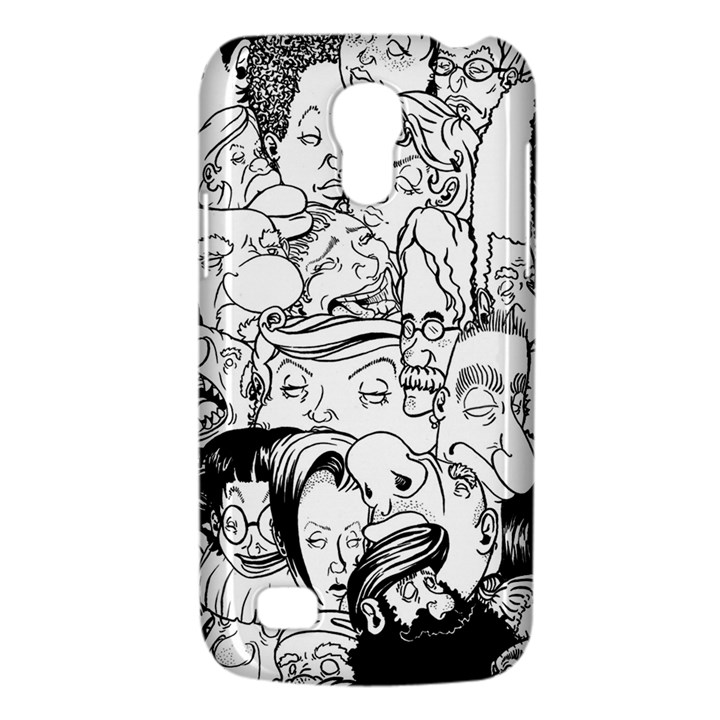 Faces in Places Samsung Galaxy S4 Mini (GT-I9190) Hardshell Case