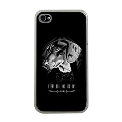 Every Dog Has Its Day Apple Iphone 4 Case (clear) by Contest1761904