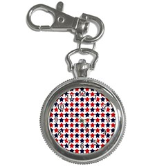 Patriot Stars Key Chain Watch