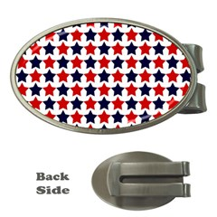 Patriot Stars Money Clip (oval) by StuffOrSomething