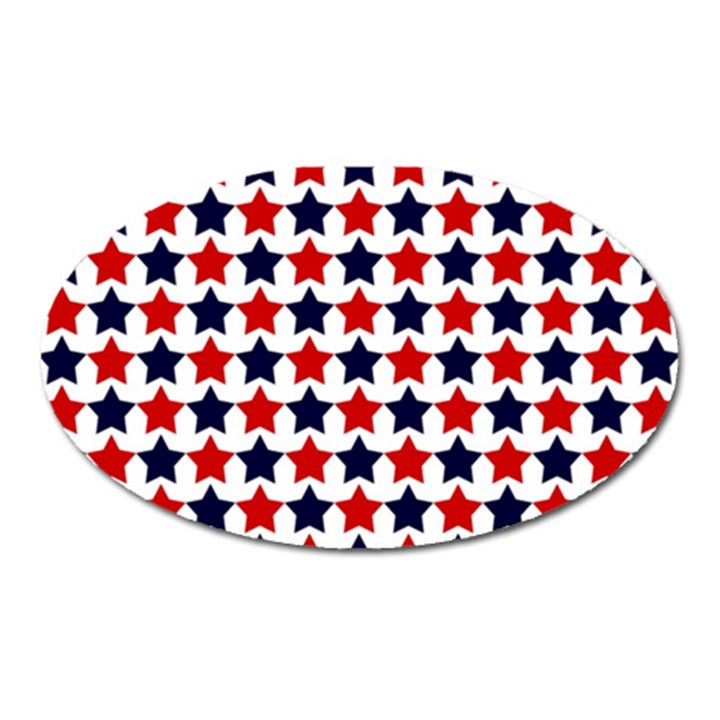 Patriot Stars Magnet (Oval)